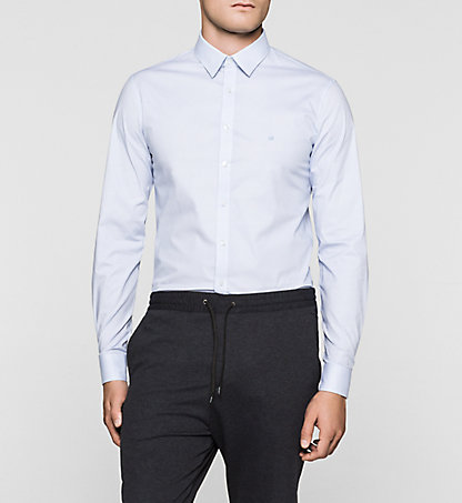 CALVIN KLEIN Slim Dress Shirt - Marseille K30K300099420