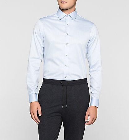 CALVIN KLEIN Fitted Dress Shirt - Cannes K30K300109454