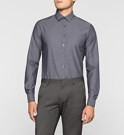 CALVIN KLEIN Slim Dress Shirt - Marseille K30K300111013