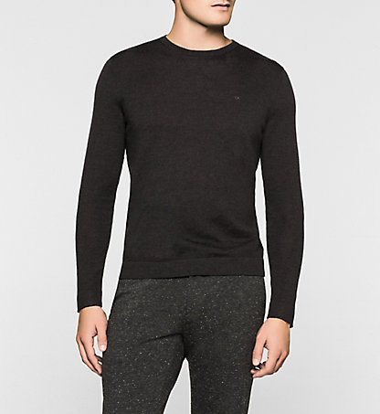 CALVIN KLEIN Heathered Sweater - Stamos K30K300237009