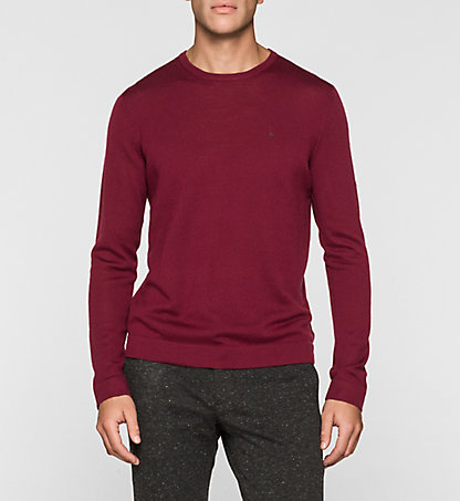 CALVIN KLEIN Heathered Sweater - Stamos K30K300237037