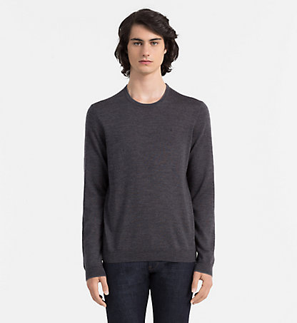 CALVIN KLEIN Heathered Sweater - Stamos K30K300237104