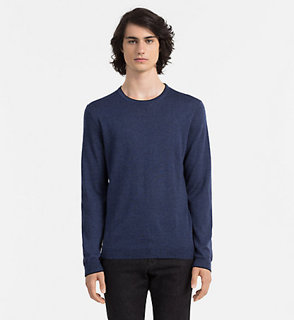 CALVIN KLEIN Heathered Sweater - Stamos K30K300237156