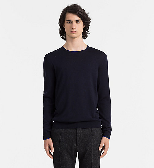 CALVINKLEIN Wool Sweater - ROMA - CALVIN KLEIN JUMPERS - main image