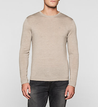 CALVIN KLEIN Heathered Sweater - Stamos K30K300237264