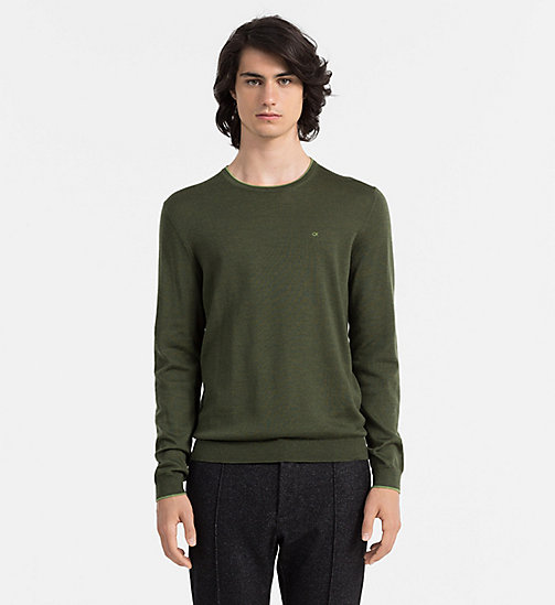 CALVINKLEIN Wool Sweater - UZZANO - CALVIN KLEIN JUMPERS - main image