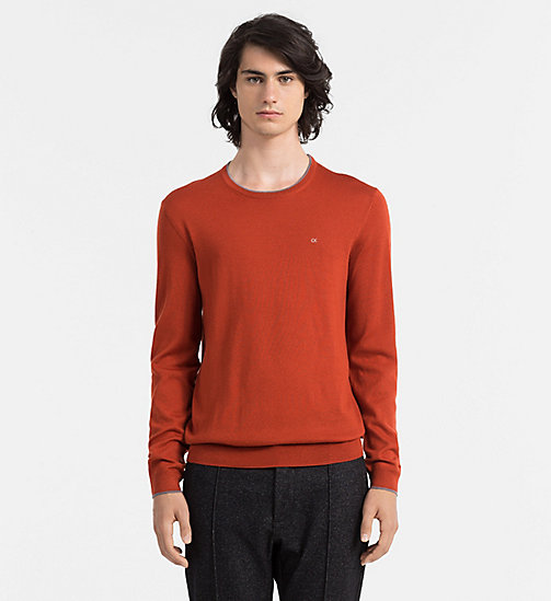 CALVINKLEIN Wool Sweater - MANGONE - CALVIN KLEIN JUMPERS - main image