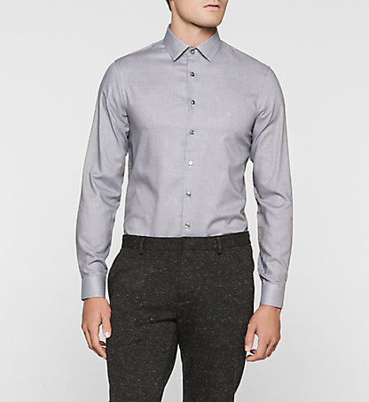 CALVIN KLEIN Slim Dress Shirt - Bari K30K300337035