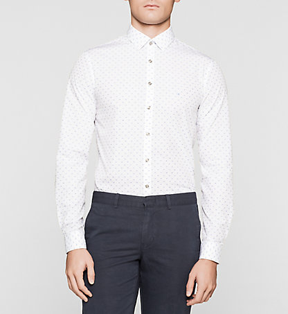 CALVIN KLEIN Slim Dress Shirt K30K300386100