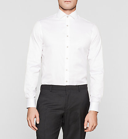 CALVIN KLEIN Fitted Dress Shirt K30K300412100