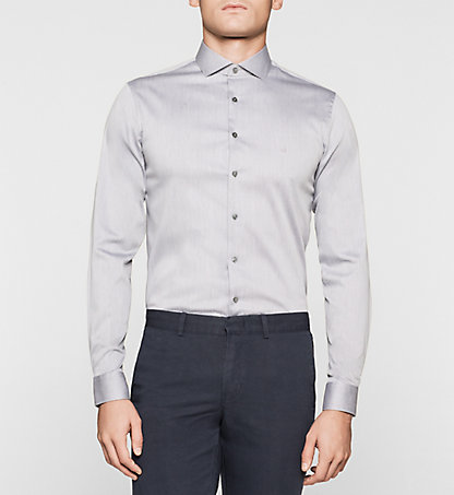 CALVIN KLEIN Slim Dress Shirt K30K300427060