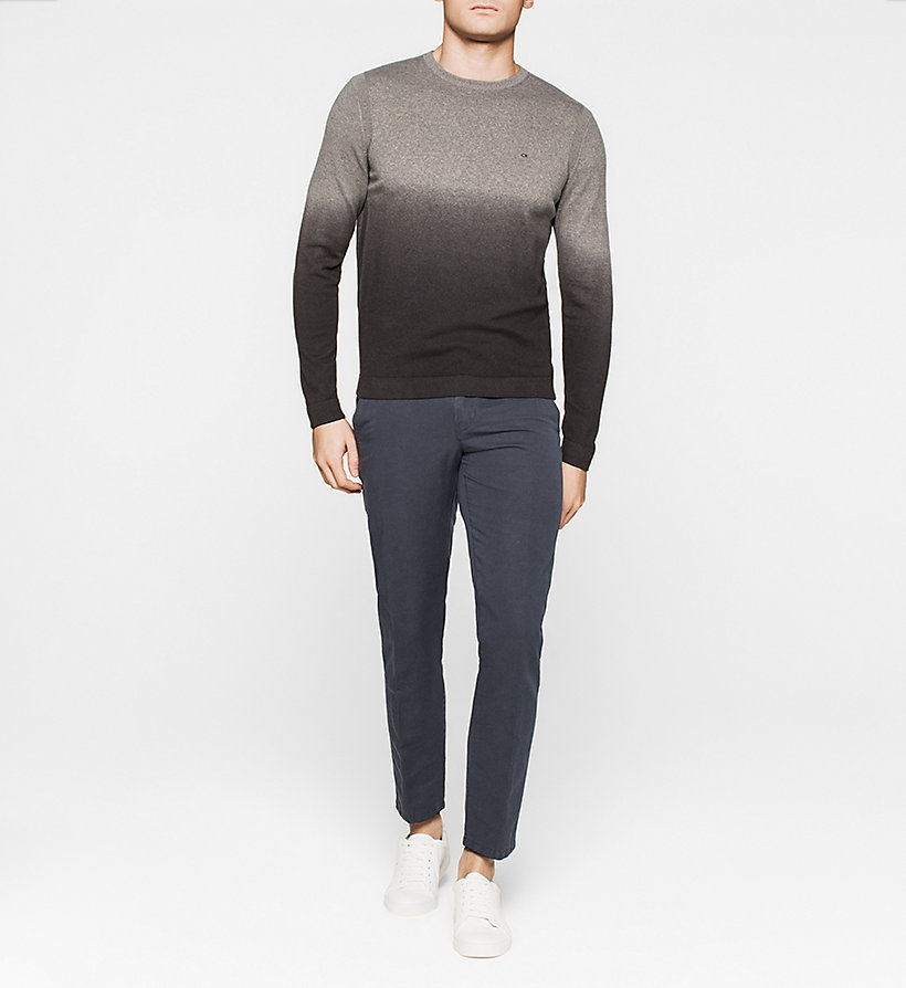 CALVINKLEIN Ombre Sweater - GREY - CALVIN KLEIN JUMPERS - detail image 1
