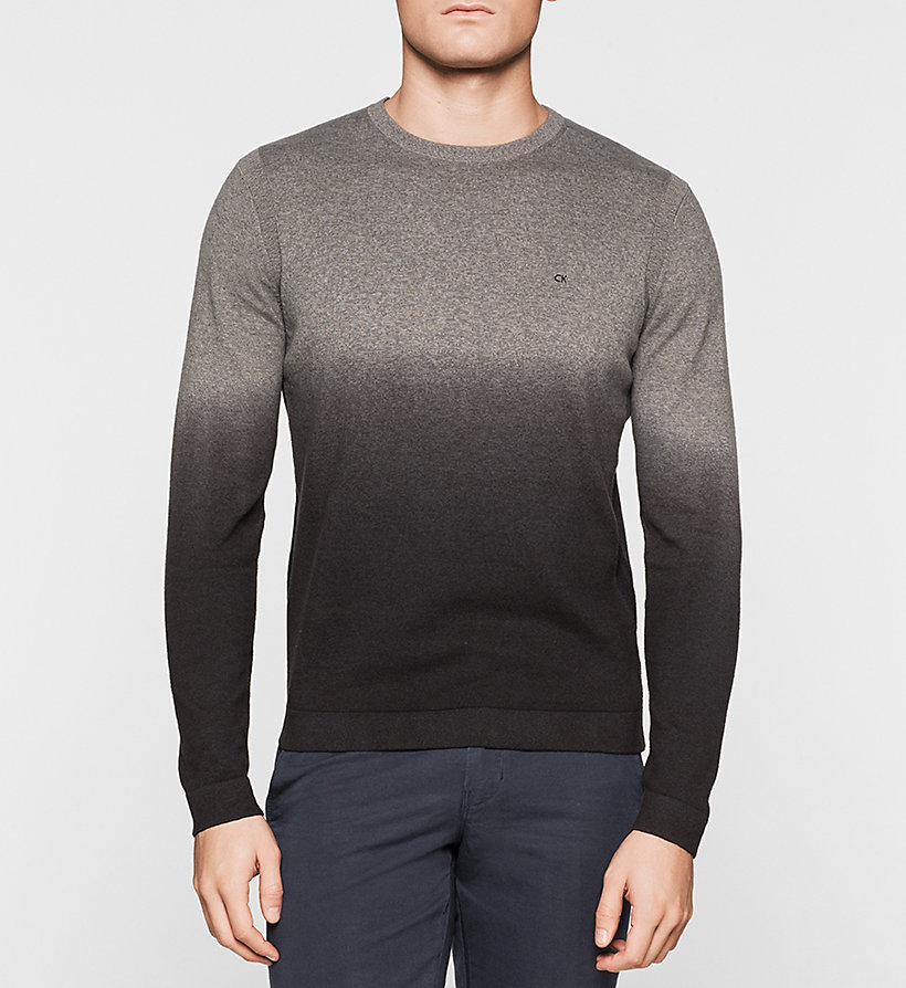 CALVINKLEIN Ombre Sweater - GREY - CALVIN KLEIN JUMPERS - main image