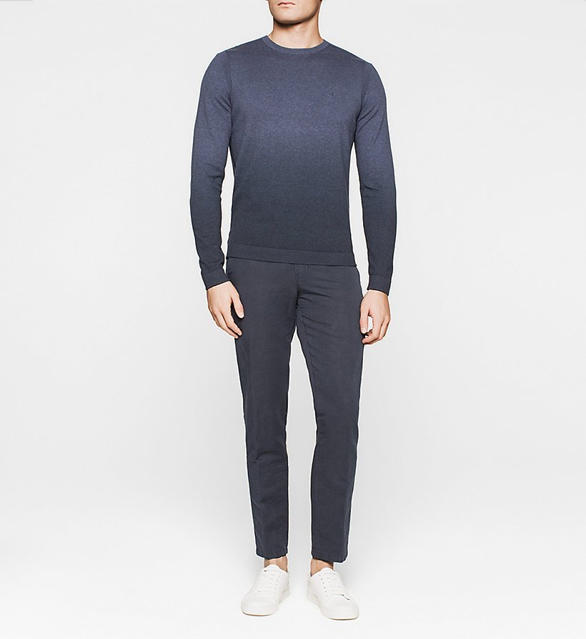 CALVINKLEIN Ombre Sweater - BLUE - CALVIN KLEIN JUMPERS - detail image 1