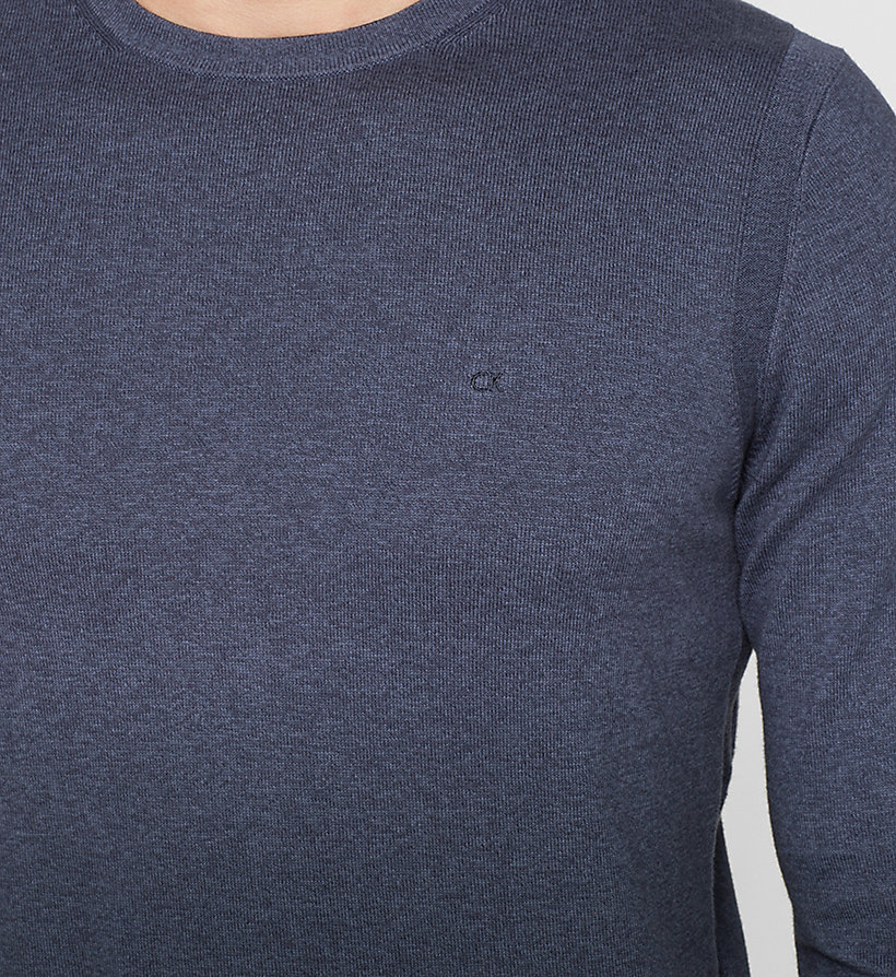 CALVINKLEIN Ombre Sweater - BLUE - CALVIN KLEIN JUMPERS - detail image 2