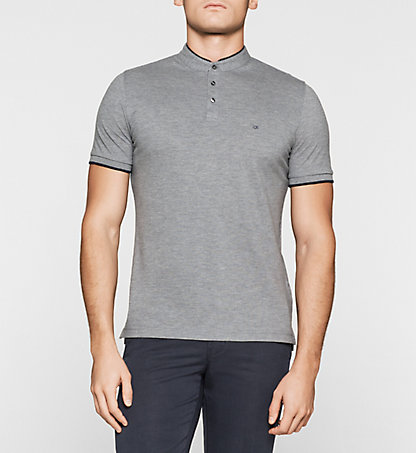 CALVIN KLEIN Fitted Pima Cotton Polo K30K300473023