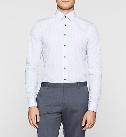 CALVIN KLEIN Slim Dress Shirt K30K300555400