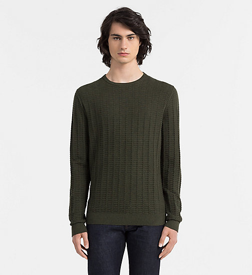 Cotton Blend Sweater - UZZANO - CALVIN KLEIN  - main image