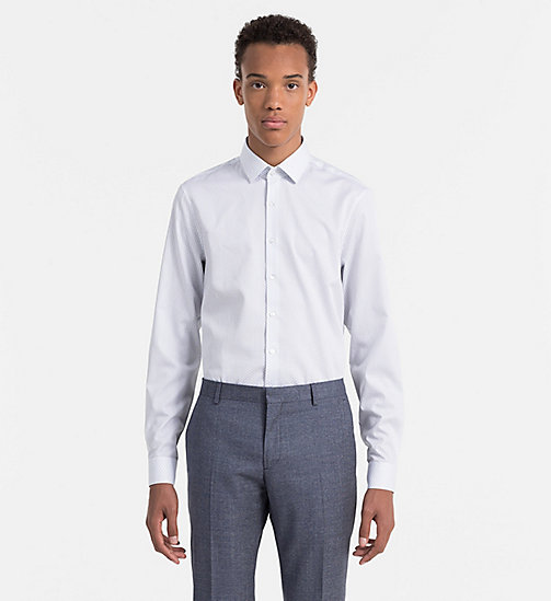 CALVINKLEIN Slim Dress Shirt - DELF BLUE - CALVIN KLEIN NEW ARRIVALS - main image
