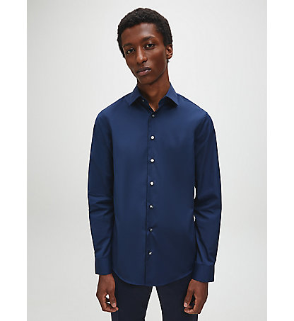 CALVIN KLEIN Fitted Shirt - Cannes K3E19C1290463
