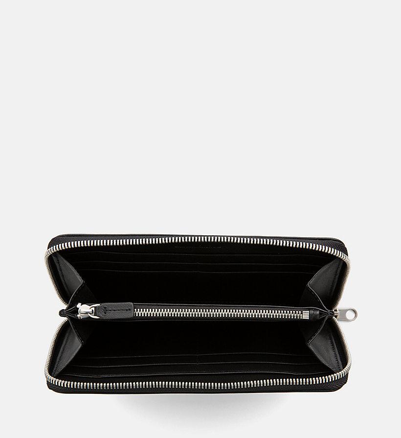 Calvin Klein - Portefeuille zippé en cuir - 3