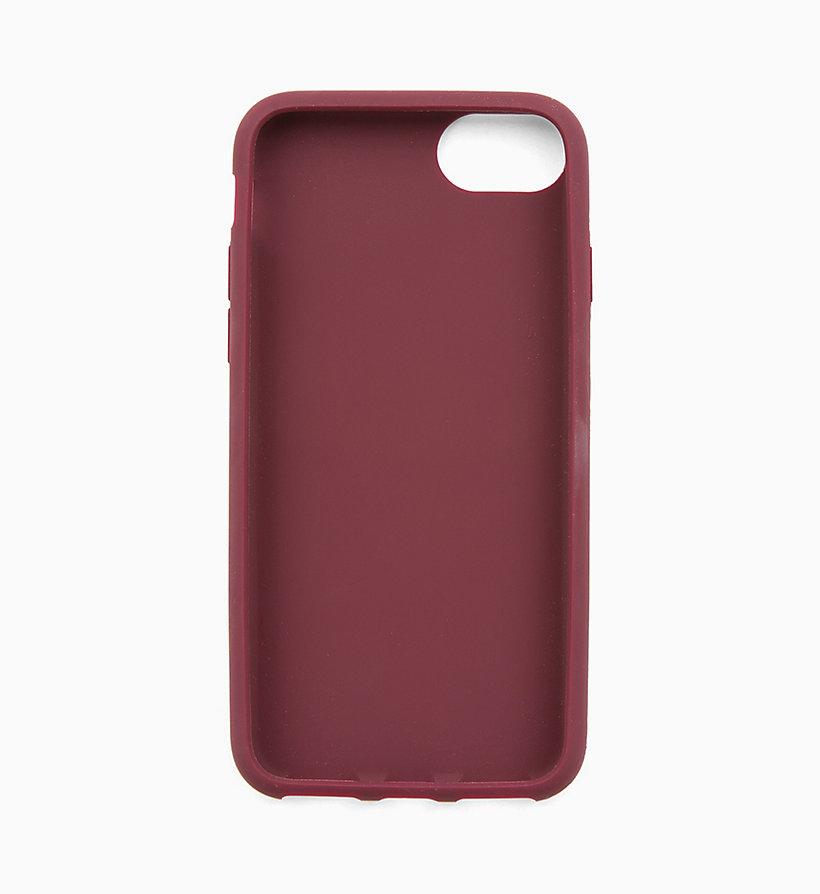 Calvin Klein - Funda de silicona para iPhone 8 - 2