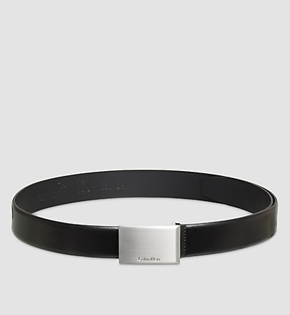 CALVIN KLEIN Leather Belt - Justin Smooth K50K500455001
