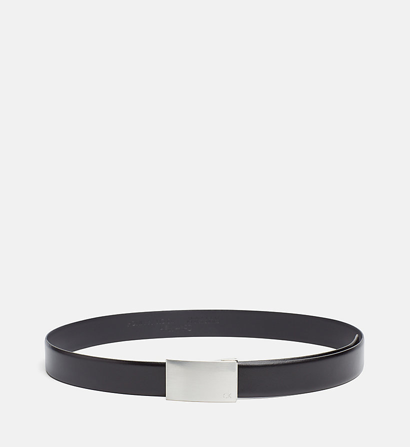 CALVINKLEIN Leather Belt in Gift Box - BLACK - CALVIN KLEIN SHOES & ACCESSORIES - detail image 2