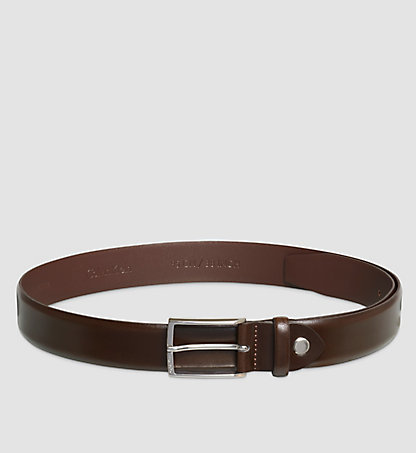 CALVIN KLEIN Leather Belt - Justin Smooth K50K500523222