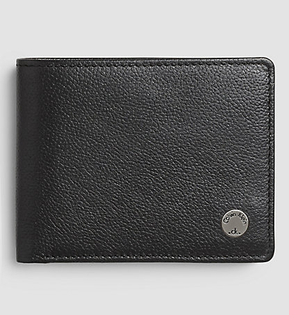 CALVIN KLEIN JEANS Leather Wallet – Seal K50K500689001