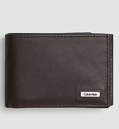 CALVIN KLEIN JEANS Leather Mini Wallet - Rail K50K500694201