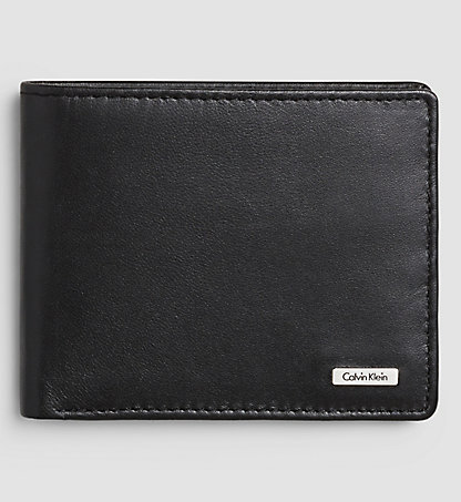 CALVIN KLEIN JEANS Leather Billfold Wallet - Rail K50K500720001