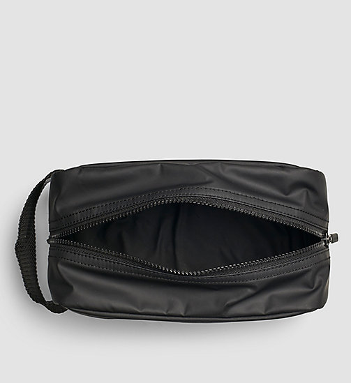 CALVINKLEIN Washbag - BLACK - CALVIN KLEIN SMALL ACCESSORIES - detail image 1