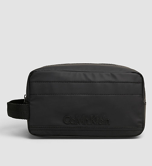 CALVINKLEIN Washbag - BLACK - CALVIN KLEIN SMALL ACCESSORIES - main image