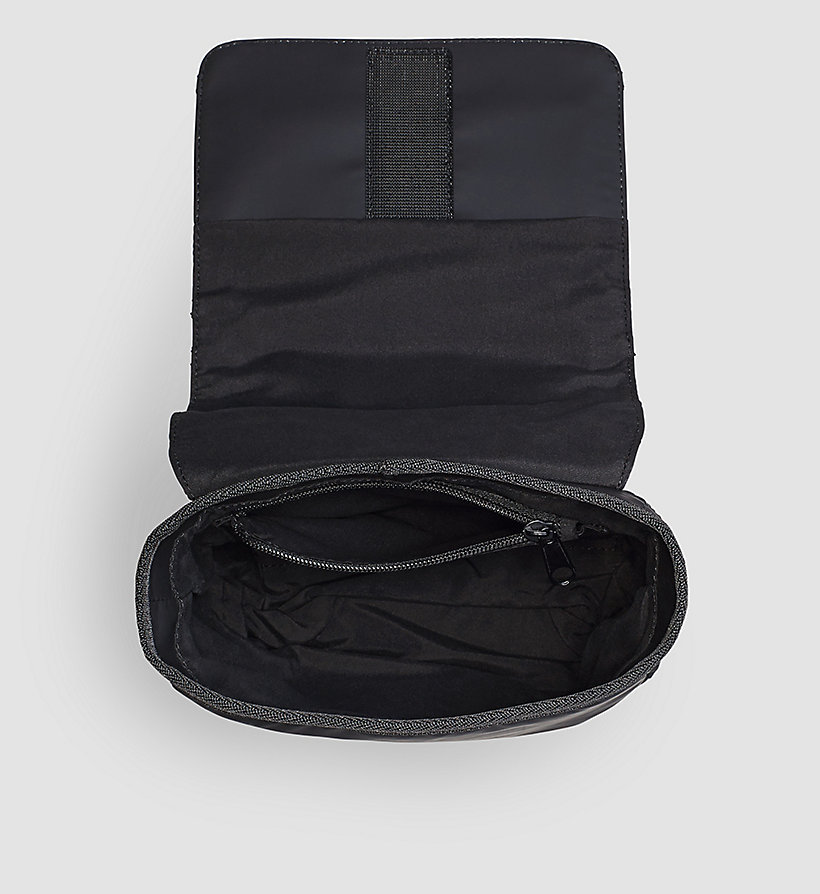 CALVINKLEIN Flap Reporter Bag - BLACK - CALVIN KLEIN SHOES & ACCESSORIES - detail image 2