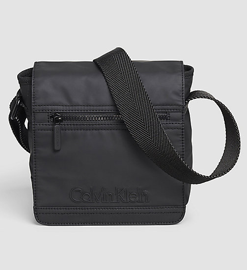 Flap Reporter Bag - BLACK - CALVIN KLEIN  - main image