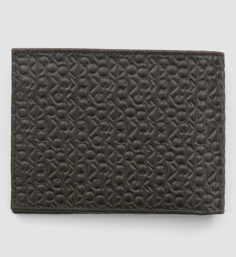 CALVINKLEIN Leather Logo Wallet - BLACK - CALVIN KLEIN SHOES & ACCESSORIES - detail image 2