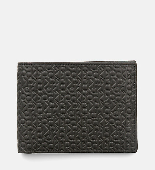 CALVINKLEIN Leather Logo Wallet - BLACK - CALVIN KLEIN VIP SALE Men DE - main image
