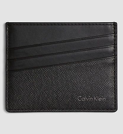 CALVIN KLEIN Leather Cardholder K50K501492001