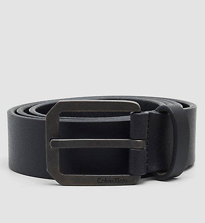 CALVIN KLEIN Leather Belt - Cross K50K501836001