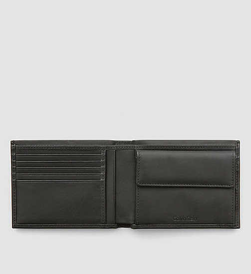 CALVINKLEIN Leather Wallet - BLACK - CALVIN KLEIN VIP SALE Men DE - detail image 1