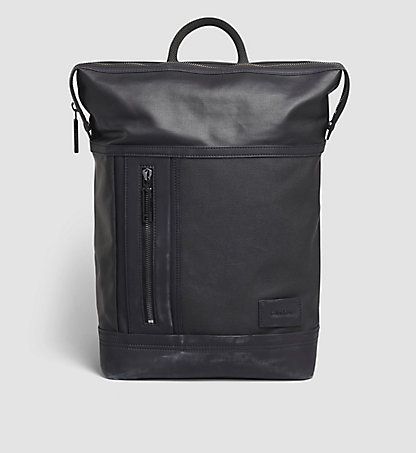 CALVIN KLEIN Coated Canvas Backpack - Ethan K50K502022001