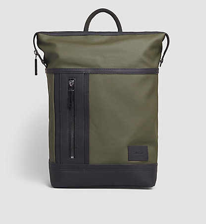 CALVIN KLEIN Coated Canvas Backpack - Ethan K50K502022313