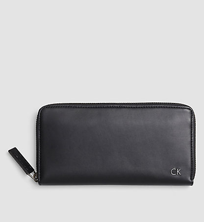 CALVIN KLEIN Leather Ziparound Wallet - Leon K50K502048001