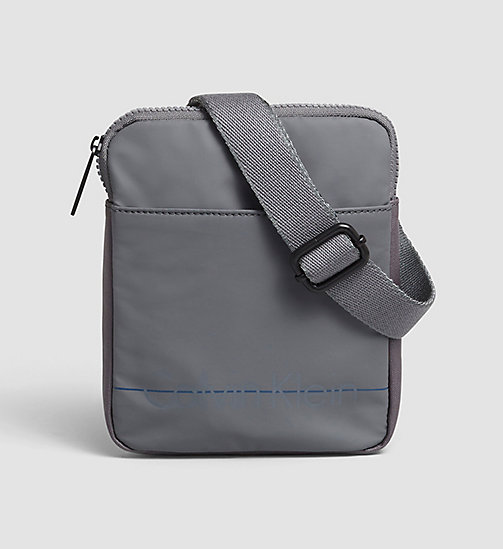 CALVINKLEIN Mini Flat Crossover - ABYSS - CALVIN KLEIN CROSSOVER BAGS - main image