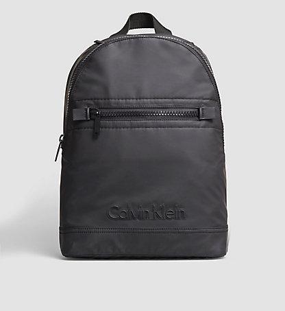 calvin klein jeans damen re issue backpack 1 nylon rucksack schwarz black. Black Bedroom Furniture Sets. Home Design Ideas