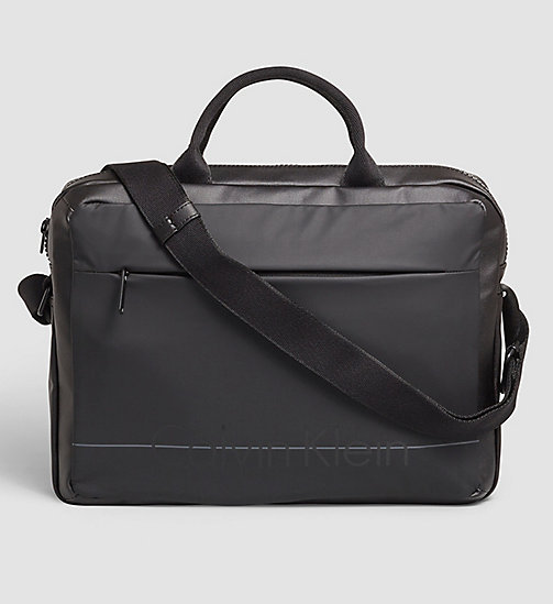 Laptop Bag - BLACK - CALVIN KLEIN SHOES & ACCESSORIES - main image