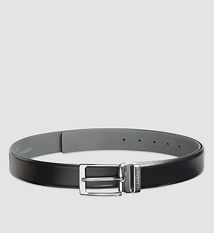 CALVIN KLEIN Leather Belt - Stand Alone K50K502080001