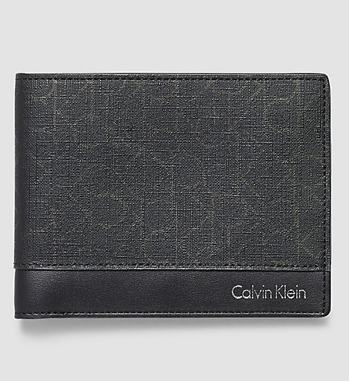 CALVINKLEIN Billfold Wallet - BLACK - CALVIN KLEIN WALLETS - main image