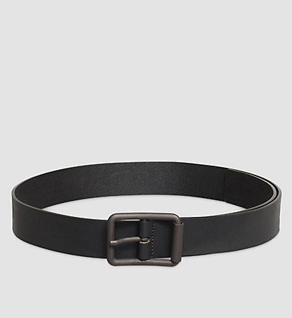 CALVIN KLEIN Leather Belt - Roller K50K502113001